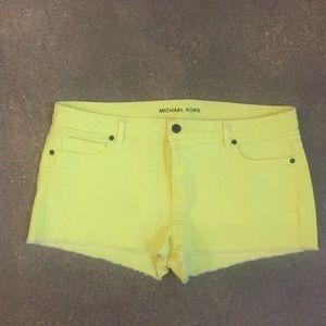 Michael Kors jean shorts
